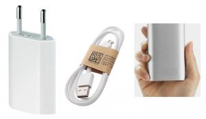 Buy Fliptech OEM Charger With 5600mah Credit Card Power Bank For Samsung Galaxy Ace Style online
