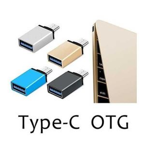 Buy Akcess Type C To USB Otg Adapter For Nexus 5x,6p, Letv Le 1s,max,oneplus 2,lumia 950xl Type-c(silver) online