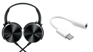 Buy Sony Xb450 Headphone With Type C Extension Of 3.5mm To Type C Connector OEM online