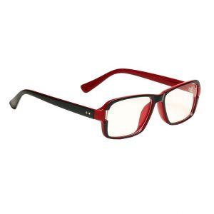 Buy Blue-tuff Rectangular Sunglass Eyewear Mens Frame - 5151-c3-greenred online