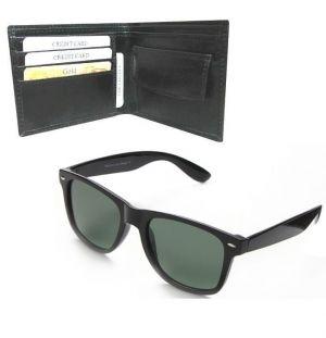 Buy Men''s Executive Wallet With Wayfarer Sunglass online