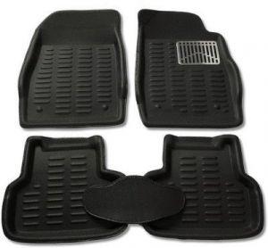 Buy Mp-black Colour-3d Car Floor Mats Perfect Fit For Maruti Suzuki Swift online