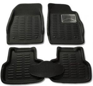 Buy P-black Colour-3d Car Floor Mats Perfect Fit For Skoda Rapid online