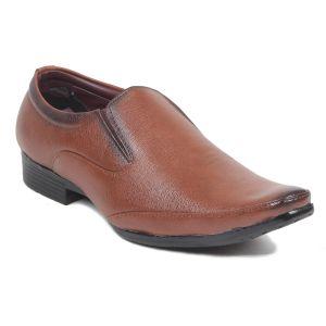 Buy Blue Tuff Mens Formal Party Wear Brown Shoes - Bt- 3019 Tan online