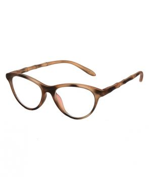 Buy Blue-Tuff Girls Antiglare Cateye Frame Printed online