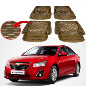 Buy MP Premium Smoke Car Floor/foot Mats Set Of 4 - Chevrolet Cruze online