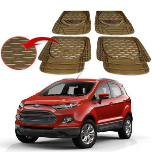 Buy MP Premium Smoke Car Floor/foot Mats Set Of 4 - Ford Ecosport online