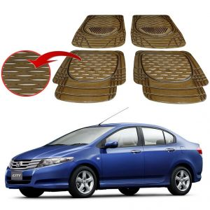 Buy MP Premium Smoke Car Floor/foot Mats Set Of 4 - Honda City online