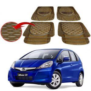 Buy MP Premium Smoke Car Floor/foot Mats Set Of 4 - Honda Jazz online