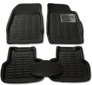 Buy MP - Black Colour-3d Car Floor Mat/folded Mats Perfect Fit - Santro Xing online