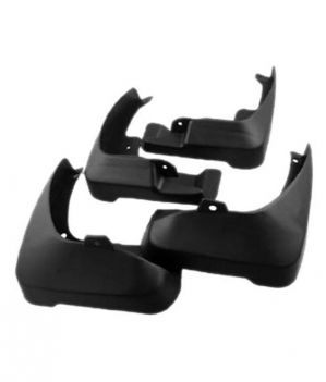 Buy MP Car Mud Flap Plastic OEM Type Black Mud Flaps (4pcs) New Alto K10 online