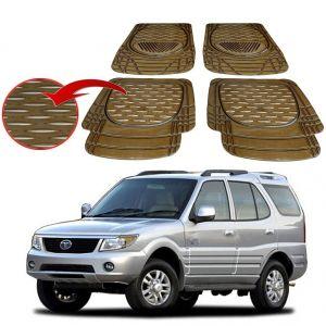 Buy MP Premium Smoke Car Floor/foot Mats Set Of 4 - Tata Safari online