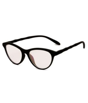Buy Details About Blue-tuff Unisex Antiglare Cateye Frames Black online