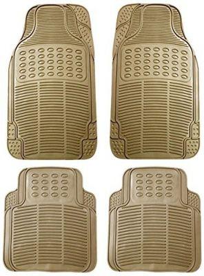 Buy MP Car Floor Mats (beige) Set Of 4 For Hyundai Santro Xing online