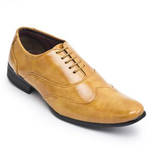 Buy Semana Yellow Formal Shoe online