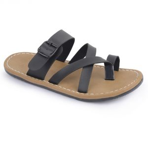 Buy Semana Black Flat Slip On online