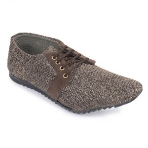 Buy Semana Brown Jute Casual Shoes online