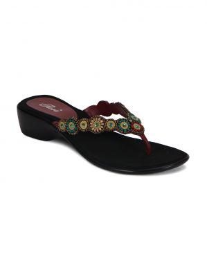 Buy Flora Red Comfort Womens Sandal - Fr-3828-05 online