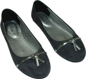 Buy Flora Grey Suede Casual Bellies For Women - (product Code - Fr-8005-43) online