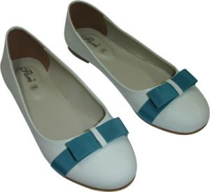 Buy Flora White Artificial Leather Casual Bellies For Women - (product Code - Fr-8004-02) online