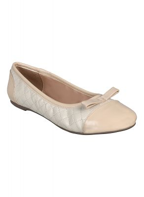 Buy Flora Cream Closed Ballerina online