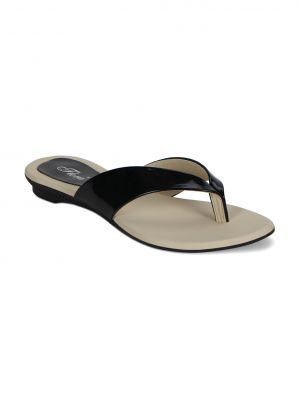 Buy Flora Black Flat Comfort Womens Slip-on - Pj-502-01 online