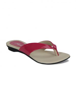 Buy Flora Pink Flat Comfort Womens Slip-on - Pj-502-08 online