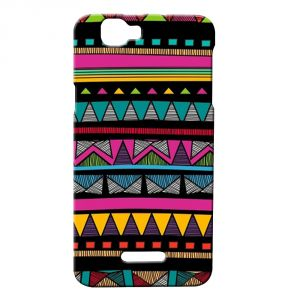 buy online 9f817 2a04e Ddf Printed Back Case For Micromax Canvas 2 Colors A120 Black Aztec  (product Code - Prh1605)