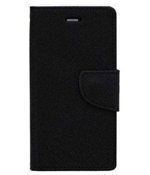on sale de0f8 ab89a Nokia Lumia 730 Flip Cover By Ddf (black)