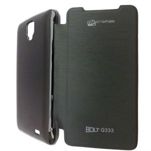 competitive price 37db2 76253 Micromax Bolt Flip Cover Q333 (product Code - Ddffc225)