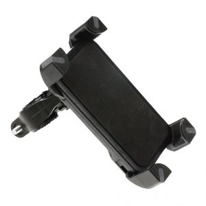 Buy Capeshoppers Stylish Clip Grip Mobile Holder With USB For Hero Motocorp CD Deluxe N/m online