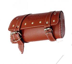 Buy Capeshoppers Royal Saddle Bag Bajaj Discover 125 New - Dark Brown online