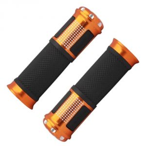 Buy Capeshoppers Bike Handle Grip Golden For Hero Motocorp Ignitor 125 Drum online