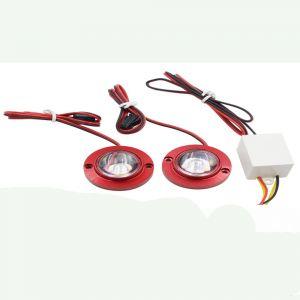 Buy Capeshoppers Strobe Light For Honda Cb Twister Disccs010607 online