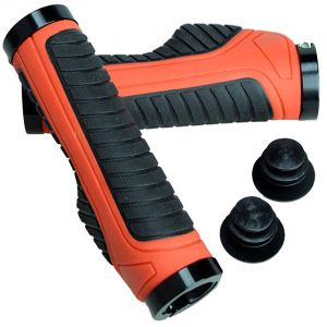 Buy Capeshoppers Moxi Red Handle Grip For Hero Motocorp Splender online