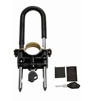 Buy Capeshoppers Universal Bike Front Wheel Lock For Tvs Jive online