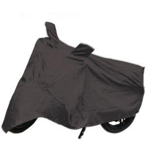 Buy Capeshoppers Bike Body Cover Grey For Tvs Wego Scooty online