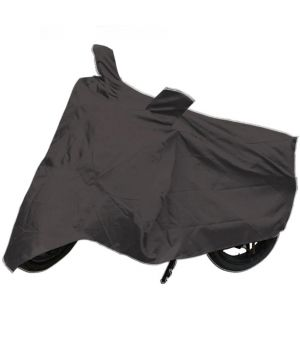 Buy Capeshoppers Bike Body Cover Grey For Honda Shine Disc online