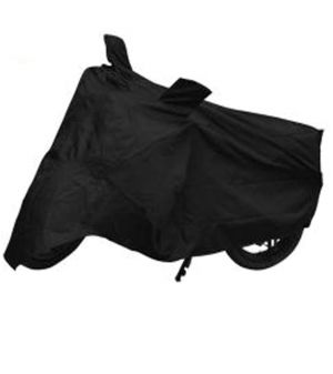 Buy Capeshoppers Bike Body Cover Black For Tvs Fiero F2 online