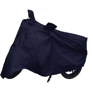 Buy Capeshoppers Bike Body Cover Blue For Yamaha Ybr 125 online