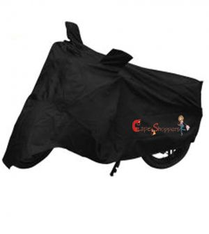 Buy Capeshoppers New Advance Bike Body Cover Black For Tvs Treenz Scooty online