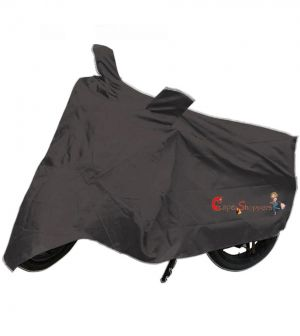 Buy Capeshoppers New Advance Bike Body Cover Grey For Hero Motocorp Cbz online