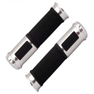 Buy Capeshoppers Bike Handle Grip Silver For Yamaha Ray Scooty online