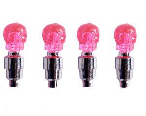 Buy Capeshoppers Skull Car Tyre LED Motion Sensor Set Of 4for Bmw X6 online