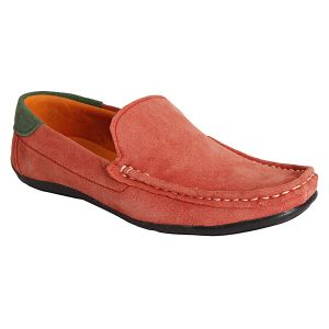 Buy Bachini Light Red Loafers For Mens (product Code - 1511-light Red) online