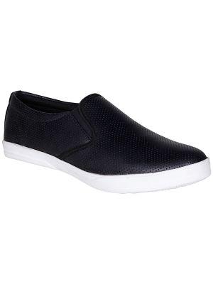 Buy Bachini Black Mens Casual Shoe Slipon - ( Product Code - 1550-black ) online