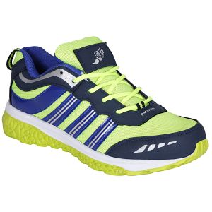 Buy Bachini Blue Green Sport Shoes For Men (product Code - 1607-blue Green) online
