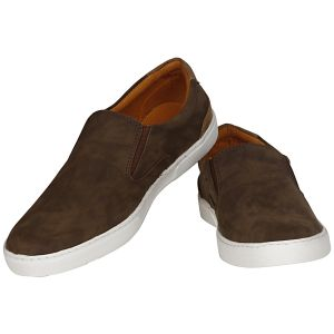 Buy Brown Casual Shoes For Men from Agra online