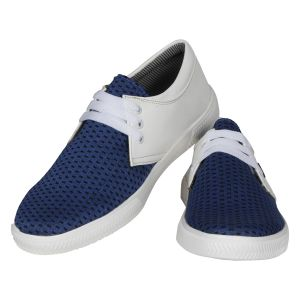 Buy White Blue Casual Shoes for Men online
