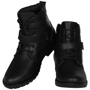 Buy Black Boot For Men from Agra online